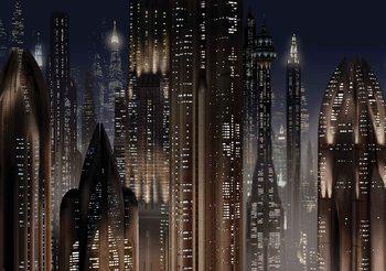 Gwiezdne wojny miasto Fototapeta