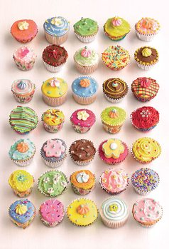 Howard Shooter - Cupcakes Fototapeta