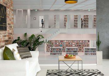 Fototapeta In The Library