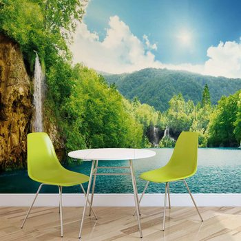Jezioro Wodospadowe Fototapeta