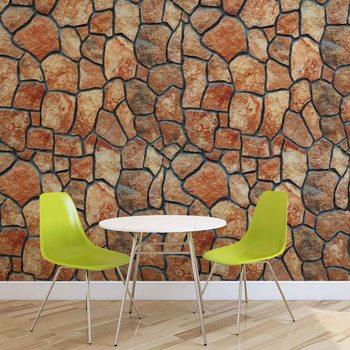 Kamienna ściana Fototapeta