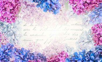 Kwiaty Vintage Fototapeta