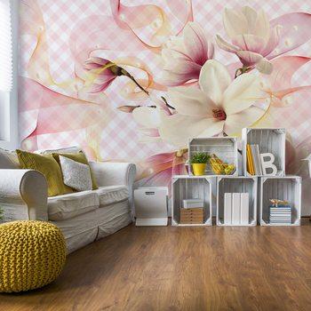 Fototapeta Magnolia Flowers Pink