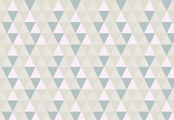 Fototapeta Modern Geometric Triangle Pattern