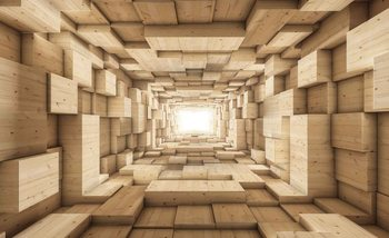 Fototapeta  Moderní abstrajt 3D design