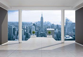 Fototapeta  New York City Skyline 3D Penthouse View