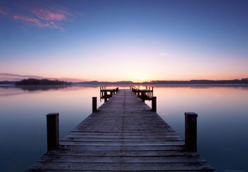 Fototapeta PIER AT SUNRISE