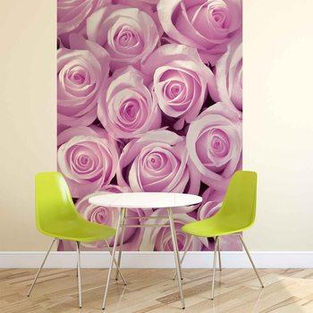 Różowe róże Fototapeta