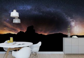 Fototapeta Silhouette Sky
