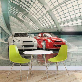 Sportowe samochody Fototapeta