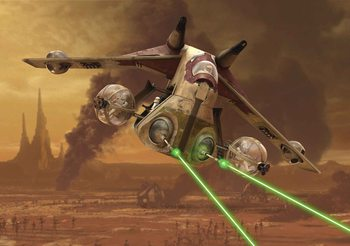 Fototapeta  Star Wars Republic Attack Gunship