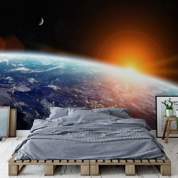 Fototapeta Sunrise Over Planet Earth