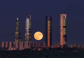 Supermoon Fototapeta