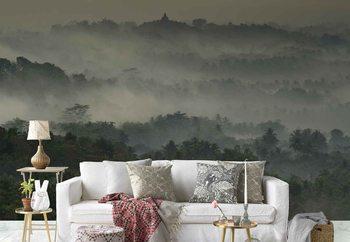 Fototapeta Temple In The Mist