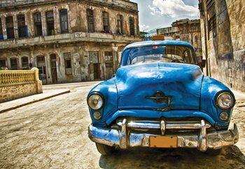 Vintage Car Cuba Havana Fototapeta
