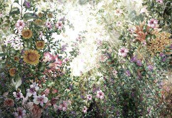 Fototapeta  Vintage Floral Painting