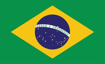 Fototapeta Vlajka Brazília