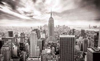 Widok z lotu ptaka na Nowy Jork Fototapeta