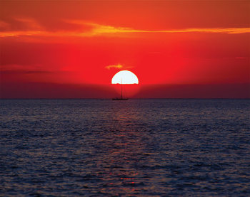 Fototapeta Západ slnka