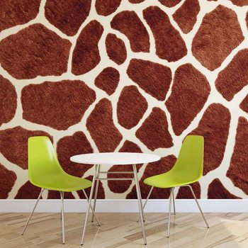 Fototapeta Žirafa, abstraktní umění