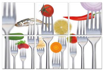 Fresh Food Schilderij