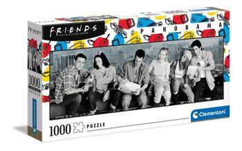 Puzzle Friends - Déjeuner au sommet d'un gratte-ciel