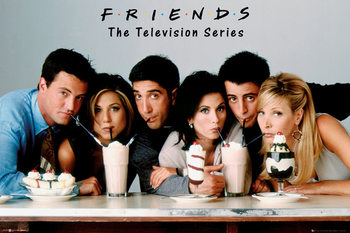 Friends - Milkshake - плакат (poster)