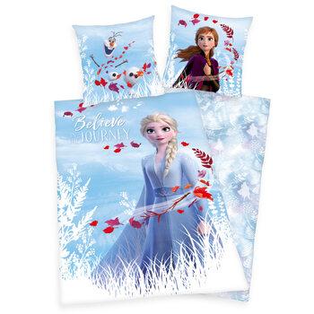 Lenjerie de pat Frozen 2 - Believe in Journey