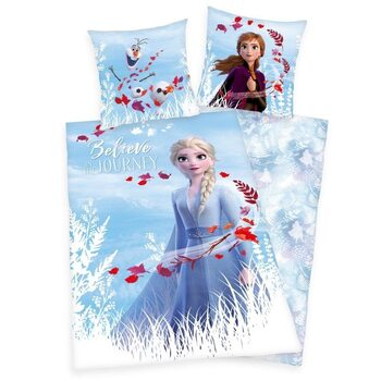 Ropa de cama Frozen, el reino del hielo 2 - Believe in Journey
