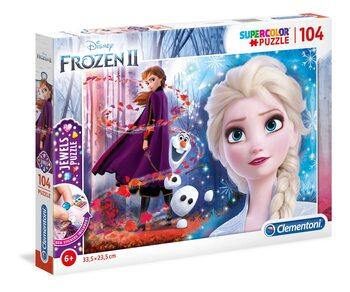 Puzle Frozen, el reino del hielo 2 - Elsa & Anna