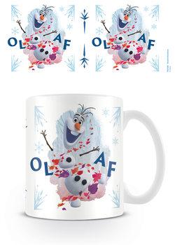 Taza Frozen, el reino del hielo 2 - Olaf Jump