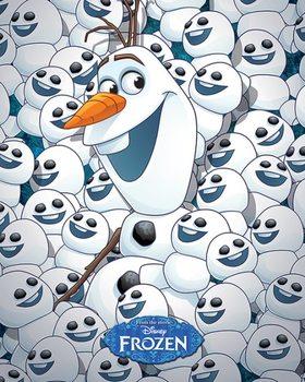 Αφίσα  Frozen Fever - Olaf & baby Olafs