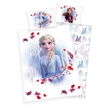 Linge de lit Frozen: huurteinen seikkailu 2 - Anna & Elsa