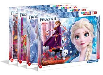 Puzzle Frozen: Il regno di ghiaccio 2 - Frame 4in1