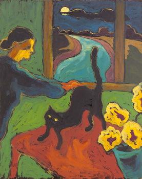 Full Moon, 2004 Festmény reprodukció