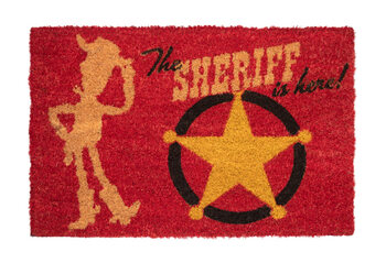 Fußmatte Toy Story - The Sheriff Is Here