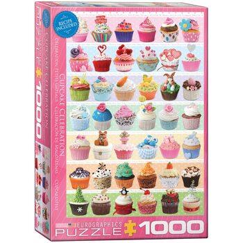 Puzzle Cupcake Celebration