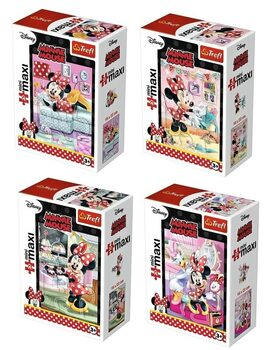 Puzzle Minnie Mouse 4in1