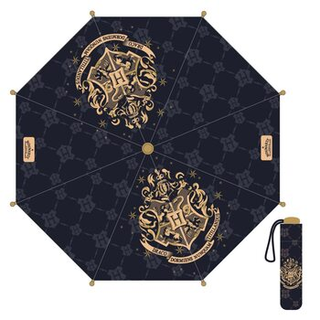 Parasol Harry Potter - Hogwarts (Black)