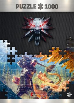 Puzzle Wiedźmin (The Witcher) - Griffin Fight