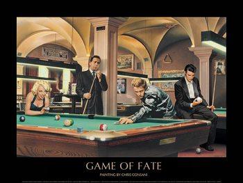 Game of Fate - Chris Consani kép reprodukció