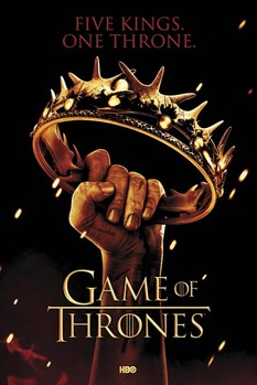 GAME OF THRONES - crown - плакат (poster)