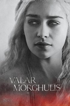 Game of Thrones - Daenerys - плакат (poster)