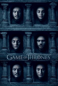 Game of Thrones - Hall of Faces - плакат (poster)