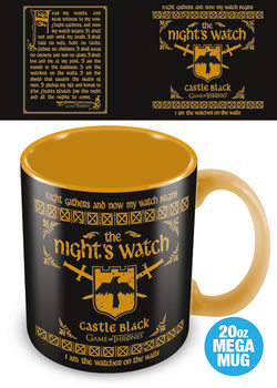 Hrnčeky Game of Thrones - The Nights Watch