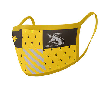 Gesichtsmasken Harry Potter - Hufflepuff (2 pack)