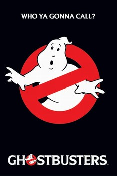 GHOSTBUSTERS - logo - плакат (poster)