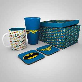 Set de regalo DC Comics - Logos