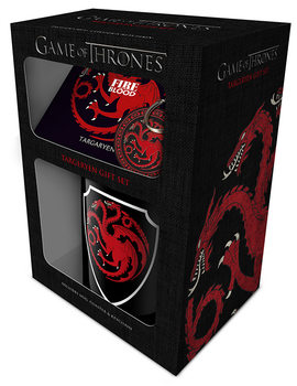 Game of Thrones - Targaryen Darilni set