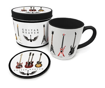 Coffret cadeau Guitar Heaven - Legendary Guitars